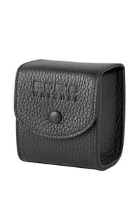 Italian Leather Watch Travel Cube - Black