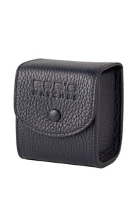 Italian Leather Watch Travel Cube - Dark Blue