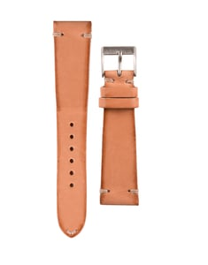 Italian Leather Watch Strap Light Calf - 20mm