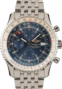 Breitling Navitimer World Chonograph A24322 Blue Dial