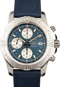 New Breitling Colt Chronograph Stainless Steel Black Dial
