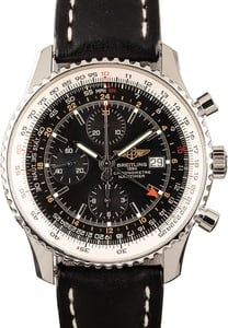 Breitling Navitimer World Chronograph Leather Strap