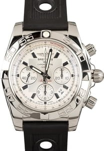 New Breitling Chronomat 44 Stainless Steel Silver Dial