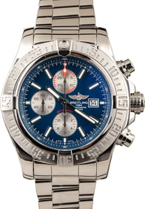 PreOwned Breitling Super Avenger II Steel 48MM