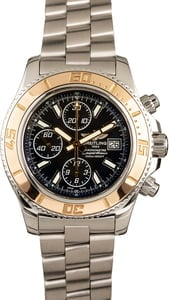 breitling superocean chronograph ii stainless steel