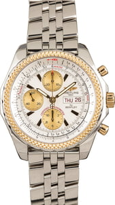 Breitling for Bentley D13362 Steel & Gold