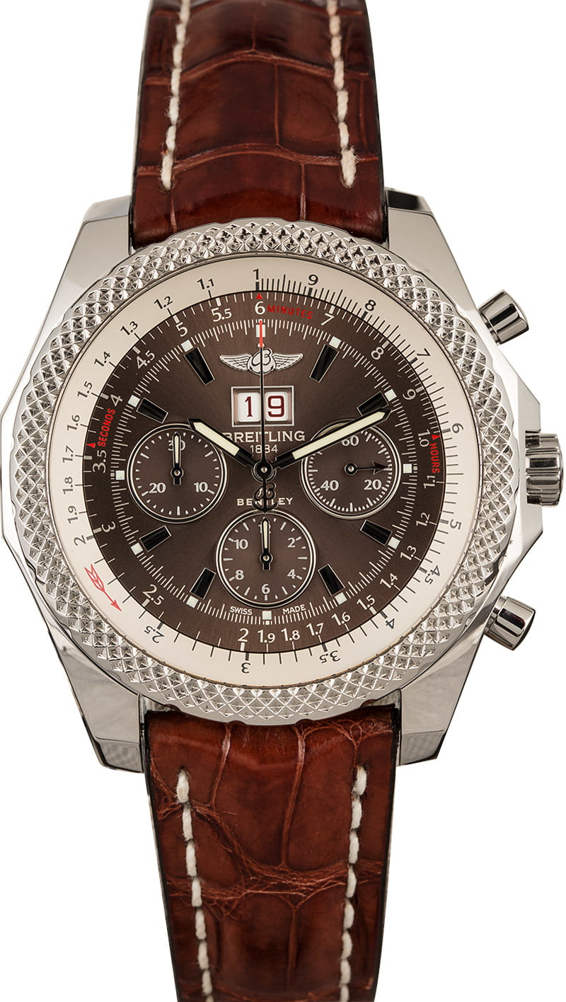 Buy Used Breitling Bentley 6 75 A4436412 Q569 Bob S Watches Sku 129756 X