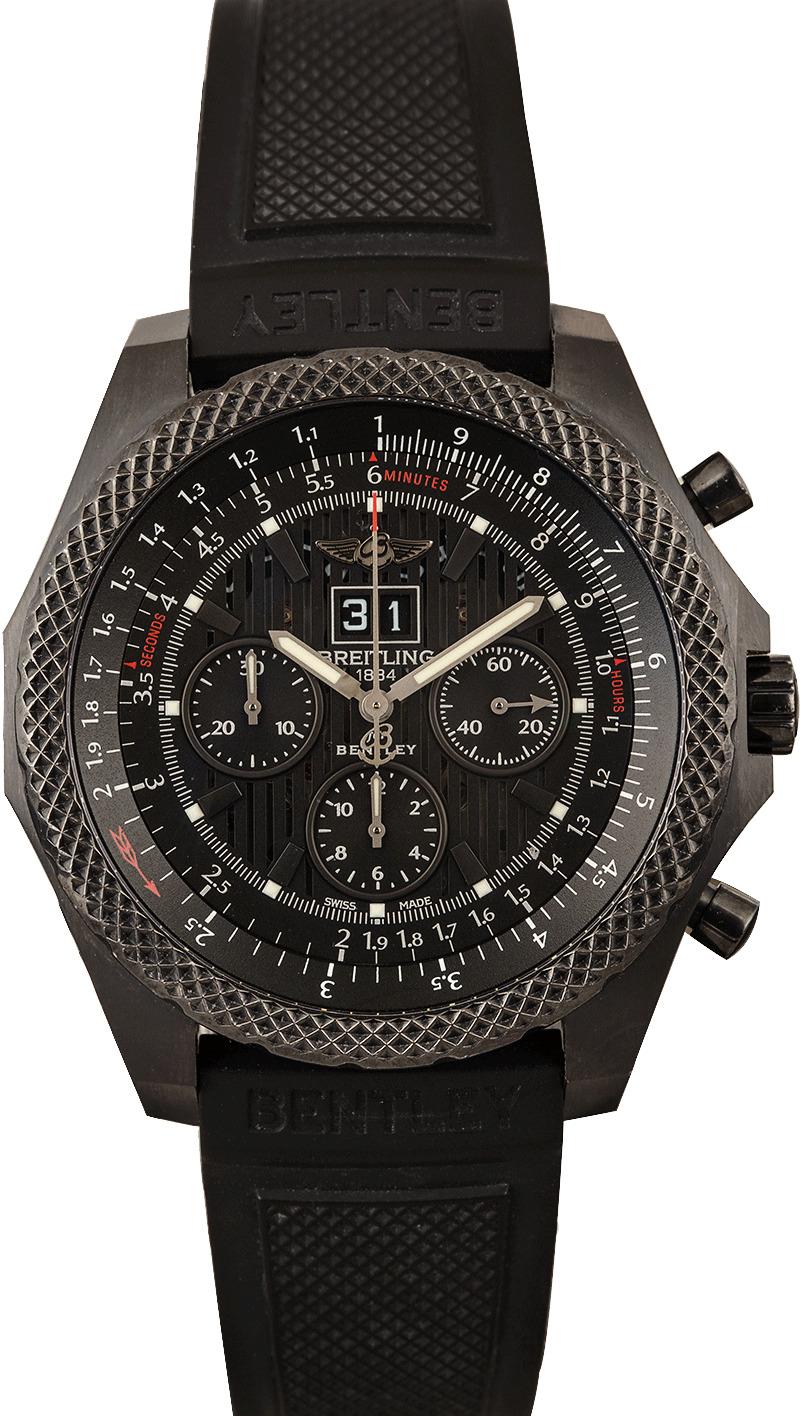 Buy Used Breitling Bentley 6 75 M44364 Bob S Watches Sku 127158