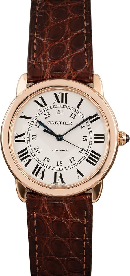 Pre Owned Cartier Ronde Solo W2RN0008