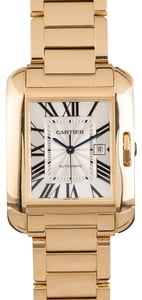PreOwned Cartier Tank Anglaise W5310018 Yellow Gold