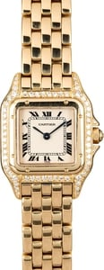 Cartier Tank Quartz 18k Yellow Gold