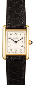 Cartier Tank Yellow Gold
