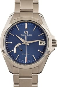 Grand Seiko Stainless Steel Blue Dial