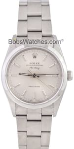 Used Rolex Air-King Stainless Steel 14000M Mens
