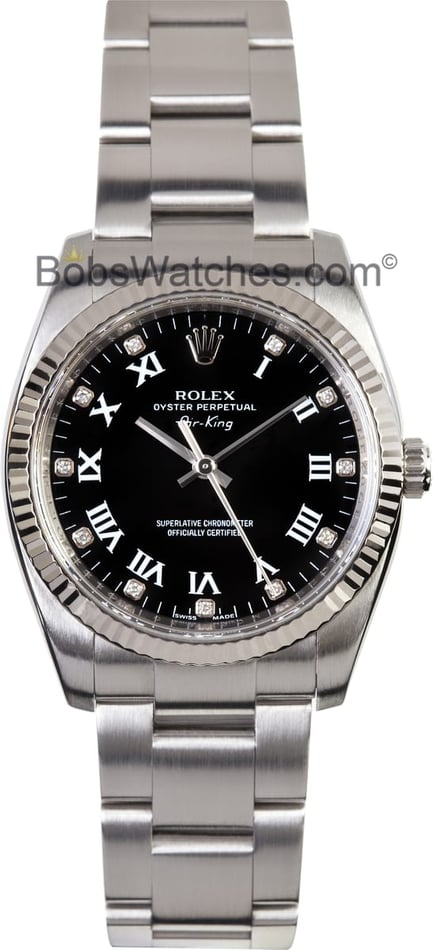 Rolex Air-King 114234 - Diamond Dial