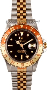 Vintage Rolex GMT-Master Model 16753 Brown Dial