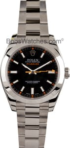 101285 x Men's Used Rolex Milgauss 116400