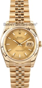 Men's Rolex DateJust 18K 116238