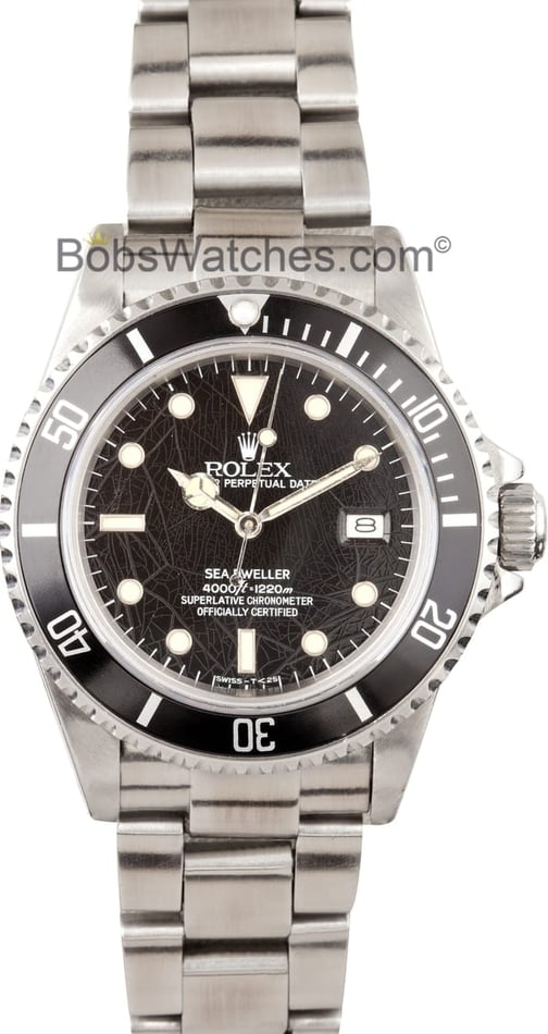 Vintage Rolex Sea-Dweller 16660 Spider Dial at Bob's