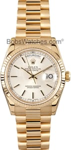 Pre-Owned Rolex Presidential Gold Day-Date 118238 Mens