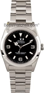 Used Rolex Explorer 114270 Men's at Bob's Watches