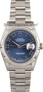 Pre-Owned Men's Rolex Oyster Perpetual DateJust Steel Model 16234