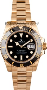 Rolex Submariner 116618 18k Gold
