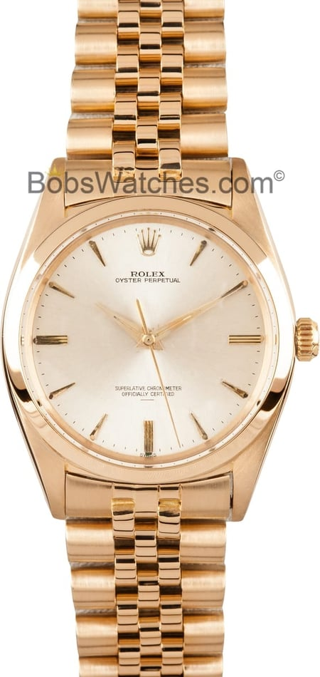 101972 Men's Rolex Oyster Perpetual DateJust Stainless Steel and Gold 1012