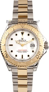 Pre-Owned Rolex Men's Yachtmaster Stainless Steel and Gold 16623