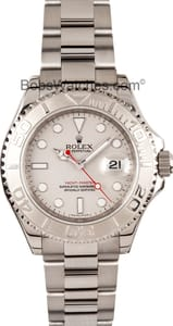 Men's Rolex Yacht-master Stainless Steel and Platinum 16622