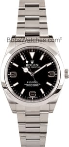 Rolex Explorer 214270 Men's at Bob's Watches