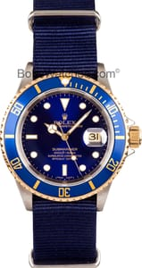 Used Men's Rolex Submariner Steel & Gold 16613
