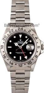Rolex Explorer II Stainless Steel Watch 16570-BKSO