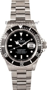 Rolex Submariner Stainless 16610