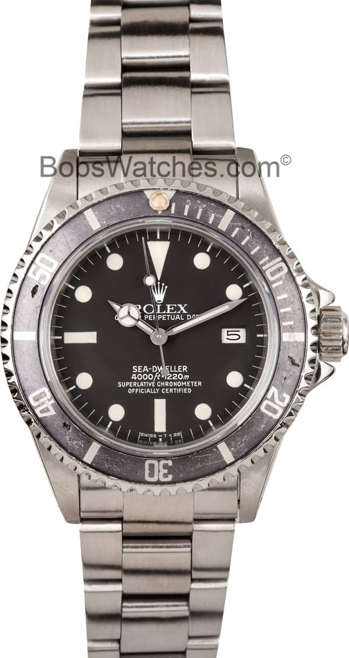 Vintage Rolex Sea-Dweller 16660 at BobsWatches.com