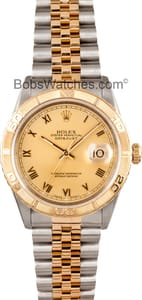 Rolex Datejust Turn-o-Graph Thunderbird Watch 16263
