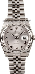 Men's Pre-Owned Rolex Oyster Perpetual DateJust 116234