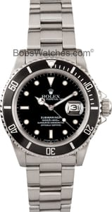 Rolex Submariner 16800 at Bob's Watches
