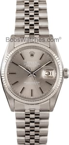 Used Men's Rolex Oyster Perpetual DateJust Stainless Steel and Gold 16014