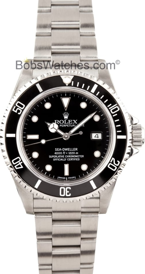 Rolex Sea-Dweller Black