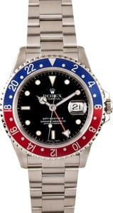 Men's Rolex GMT-Master II 16710 - Pepsi Bezel No Holes Case
