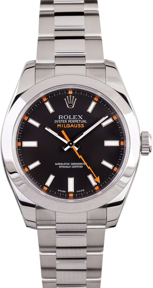 Men's Used Rolex Milgauss 116400