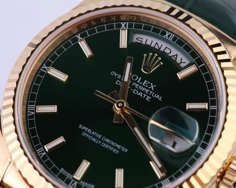 Rolex President Gold Day-Date 118138
