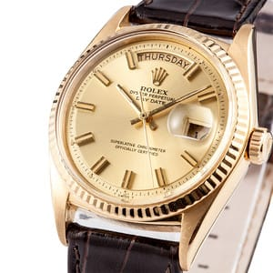 Vintage Rolex President Gold Day-Date 1803