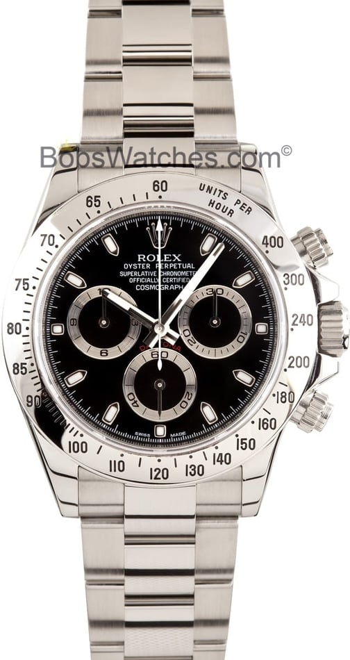 Stainless Steel Rolex Daytona