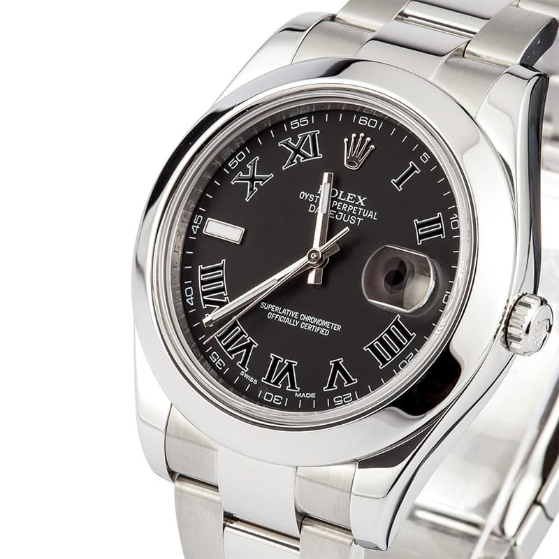 Rolex Datejust 116300 Black Dial