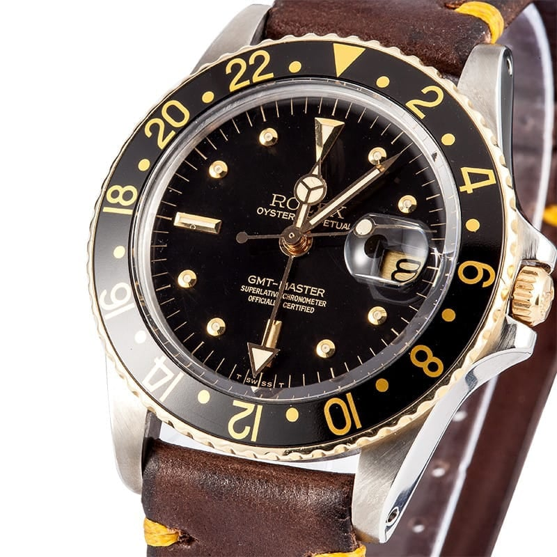 Used Men's Rolex GMT-Master Model 1675