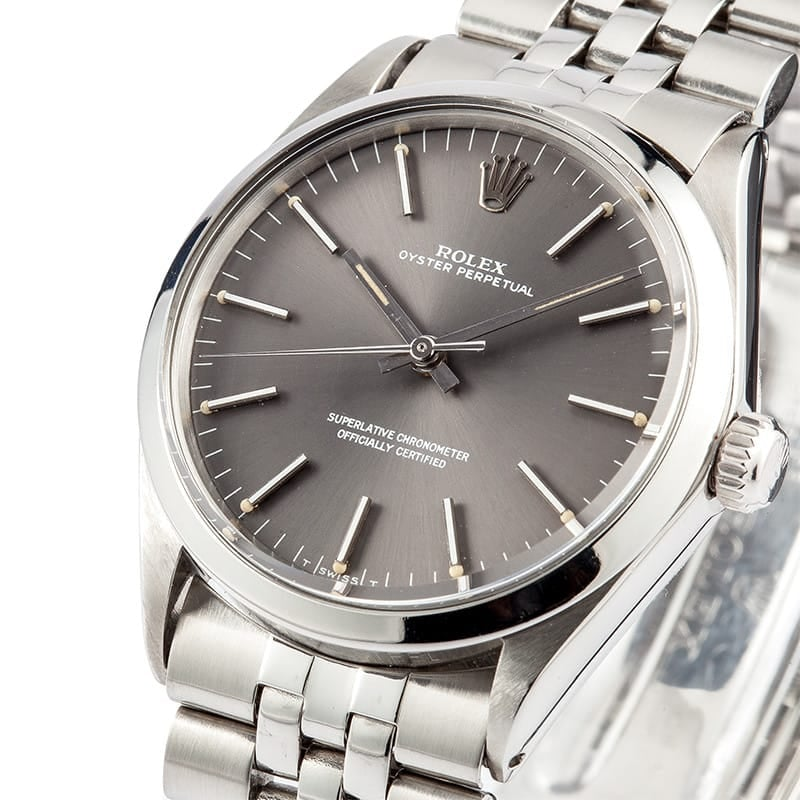 Pre-Owned Rolex DateJust Stainless Steel Bezel