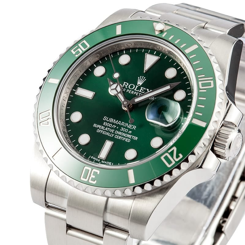 Green Anniversary Rolex Submariner