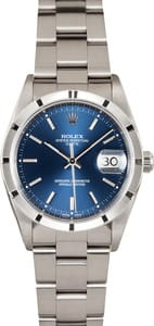 Pre-Owned Men's Rolex Oyster Perpetual Date Steel Model 15210